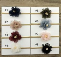 jojoFlower Headband for Kids Baby Girl, Christmas Headband, T...