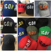 NEW ICON embroidered Letters hat cap Adjustable Cotton Luxur...