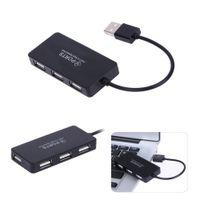 عالية السرعة 4 منافذ USB 2.0 الفاصل توسيع مصغرة محور للكمبيوتر الكمبيوتر المحمول ويندوز المحمولة محول usb محول جودة عالية شحن سريع
