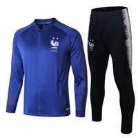 2018 World Cup Two stars jacket tracksuits POGBA GRIEZMANN s...