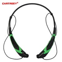 CHATREEY HBS-760 Drahtloser Bluetooth Headset Outdoor Sports Tragbarer Bluetooth Headset Vibration Stereo Kopfhörer Universal.
