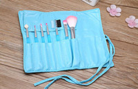 Wholesale high quality 5color Makeup Brushes 1Set=7pcs Kit B...