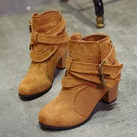 autumn winter women boots shoes martin ankle boots for women...