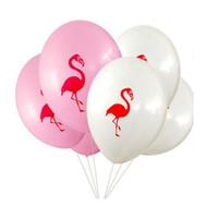 Belos balões de látex 10 polegadas hélio para o ofício do presente festa de casamento de aniversário favor do chuveiro de bebê decoração diy flamingo / nuvem