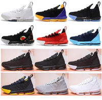 Top Quality 16 Black White Red Gold BHM Basketball Shoes Men...