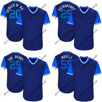 Toronto Jersey 29 Devon Travis The Babby 41 Aaron Sanchez Sanchize 55 Russell Martin Músculo 2018 Jugadores de béisbol de fin de semana