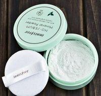 Chaude Corée Célèbre Marque Innisfree Haute Qualité Sans Sébum Poudre Minérale + Poudre De Flou Contrôle De La Poudre Lâche Maquillage Réglage Fondation 5g