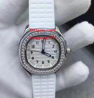 6 Stil Bayanlar Yüksek Kalite İzle 5067A-011 35mm VK Kuvars Beyaz Kadran Tarihi Elmas Sınır Chronograph Kadınlar İzle Saatler