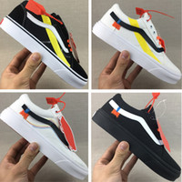 Vanses Off The Wall Old Skool Canvas Shoes Original Off Join...