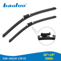 BAOLUO 2PCS Windshield Wiper Blades For Volvo C70- T5 (2008+ )...