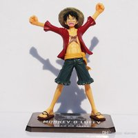 Japaness Anime Cosplay One Piece Monkey Luffy Action Figures...