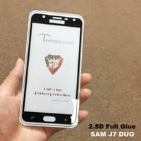2.5D Full Cover Glue Glass templado para Samsung Glaxy J7 Duo A6 2018 Redmi Note 5 Pro 5 Plus Note 5 Color Protector de pantalla Explosión
