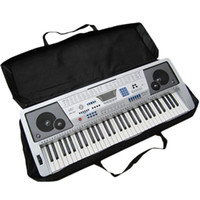 61 Key Black Piano Keyboard Case Bag Electronic Music Carry ...