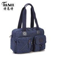 68d2c603362c5 TEGAOTE Frauen Umhängetaschen Luxus Weiblichen Kausalen Totes Handtasche  Für Täglichen Einkauf Allzweck Handtasche Crossbody Tasche Bolsos