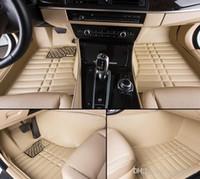 Tapis de sol de voiture de haute qualité pour BMW série 2 F22 F23 218i 220i 228i 218d 220d 225d 3D voiture style tapis tapis de plancher (2014-maintenant)