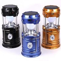 Solar lamps new Style Portable Outdoor LED Camping Lantern S...