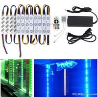 10ft 20 adet RGB Led Modülleri Işıkları 5630 Reklam Işık IP65 Su Geçirmez Led Burcu Arka Işıklar + Uzaktan Kumanda + Sürücüler