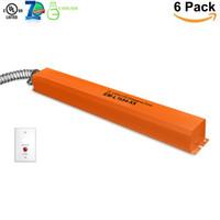 16W 15-54vDC emergenza Backup driver LED batteria di emergenza per 16-80w LED Apparecchio con il driver esterno UL (6 pezzi)
