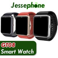100PCS GT08 Bluetooth Smart Watch with SIM Card Slot and NFC...
