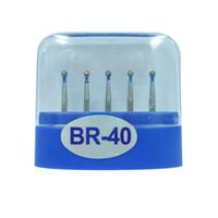 1 paquete (5 piezas) BR-40 Dental Diamond Burs Medium FG 1.6M para pieza de mano de alta velocidad dental Muchos modelos disponibles