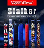 Пара шторм Сталкер стартовый комплект 400mah батареи 1.8 мл многоразового картридж Vape граффити электронная сигарета Vape Pod Pen Kit заправка Ecigar