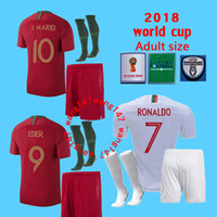 Adult kits+ sock soccer jerseys QUARESMA 2018 World Cup DANIL...