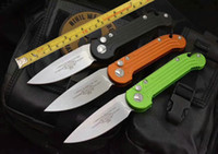 3 Cor OEM LUDT Flipper Folding Elmax lâmina alça de Alumínio ao ar livre Engrenagem tactical camping caça ferramenta EDC melhor faca