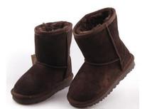 VENDA quente New Real Australia 528 de Alta qualidade Kid Meninos meninas crianças bebê botas de neve quente Estudantes Adolescentes botas de Inverno de Neve RÁPIDO grátis