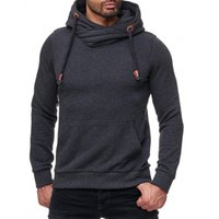 New Style Winter Men Hooded Sweatshirt Jacket Long Sleeve Fa...