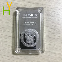 5pcs / Lot Livraison gratuite, une Ounce.999 fine Silver Bullion Bar / Collection Coin, American Collection Silver Bar