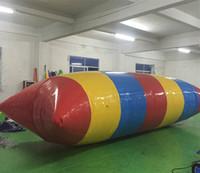 شحن مجاني 0.9 ملليمتر pvc 5 متر * 2 متر نفخ فقاعة الماء القفز وسادة فقاعة الماء القفز حقيبة للبيع