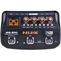 NUX MG-200 Gitarrenprozessor Multi Gitarreneffektpedal 55 Effekte 70 Sekunden Aufnahme-Gitarren-Looper-Trommelmaschine geben Verschiffen frei