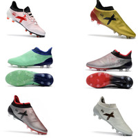 2018 Hommes ACE 17 PureControl FG TF Chaussures de football Chaussures de football Football Nouveaux arrivés Hommes X 17 Purechaos FG / AG Chaussures de football Fooball