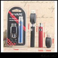 Batteria di preriscaldamento 650mAh O-Pen Touch Blister Kit Fit Liberty V5 V9 CE3 Serbatoio G2 A3 cartucce DHL libero