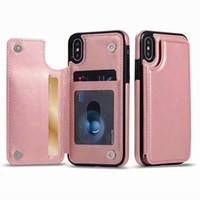 Luxo pu leather flip phone case para iphone x xs max xr case carteira cartão magnético tampa traseira para o iphone xs max 6 6 s 7 8 além de