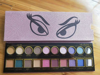 Dropshipping New Marke Beauty Iconic London 20color Lidschatten-Palette in Glanz Gesicht Make-up-Palatte mit Geschenk