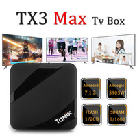 TX3 Max Android TV BOX Quad Core 2GB 16GB Amlogic S905W Andr...