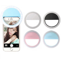 3 livelli Selfie LED Flash Light universale telefono cellulare selfie luminoso anello clip per iPhone 8 8x 7 6 6s più Samsung Xiaomi