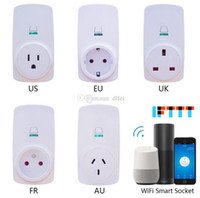 Smart Home WIFI Power Plugs Compatible with Alexa Google Hom...