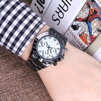 2017 Famous design Fashion Men Big Watch Gold silver Stainle...