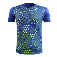 جديد LI-NING قمصان تنس الطاولة Men Xu Xin، China Dragon ping pong shirts، Ma ملابس تنس الطاولة طويلة ملابس الرجال