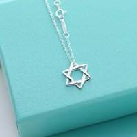American Sterling Silver star Necklace women luxury Peretti ...