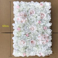 40x60cm Artificial Silk Rose Flower Wall Decoration Beautifu...