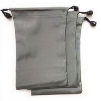 Bolsas con cordón para teléfono celular antiestático Fácil de llevar Bolsa de almacenamiento Paquete cuadrado impermeable Bolsillo Moda