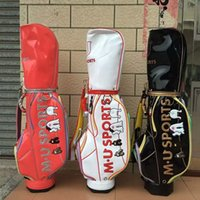 MU SPORTS Women' s Golf Bag White Red Black 3 Color Ladi...