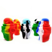 Silicone Container 3ml 15ml Skull Sharp Oil Wax Box Silicon ...
