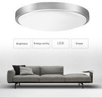 Lumière de plafond Tour moderne de LED DI21CM 12W Montée de la surface Simple Foyer Simple Studing Salle de séjour Salon Hall Home Callidor Éclairage