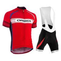 Orbea فريق الدراجات جيرسي دعوى MTB دراجة ملابس رجالية الصيف سريع الجافة سباق الدراجات الملابس الرياضية موحدة 32049