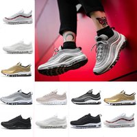 97 OG QS Metallic Gold Silver Bullet Triple Black ALL White ...