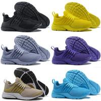 the latest 1e7d5 6a236 2018 Nuevo PRESTO BR QS Breathe Amarillo Negro Blanco Hombres prestos  Zapatillas Zapatillas Mujer, Zapatillas
